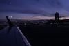 Logan Airport Sunset - October 11, 2010