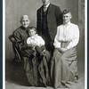 Melinda Johnson (82 years old), Harold Sargent, Verlin Sargent, Emily Sargent<br /> 1910 or so
