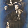 Left to right:<br /> Nellie Maxson, Roy Maxson (jr), Amy Sargent, Orla Sargent<br /> December 12, 1909