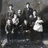 Nellie (Daniels) upper left)<br /> 1880's