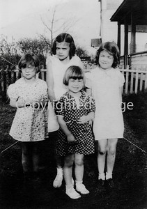 4 Lusk Sisters Young