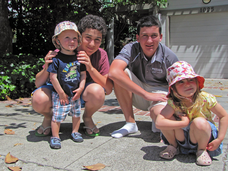 05-Karl, Zack, Jesse, Hazel