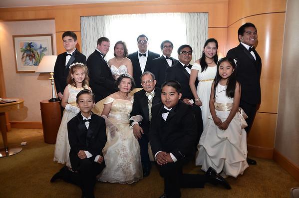 Pre-Golden Wedding Celebration Family Pictorial