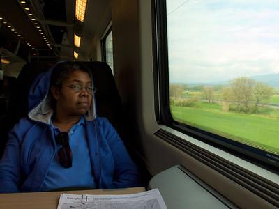 Train from Roma Termini to Firenze SMN
