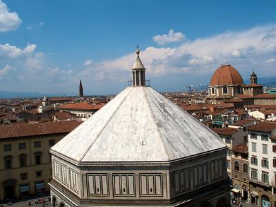 Firenze - From Campanile (Batisterio)