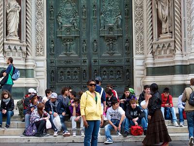 Firenze - S. Maria del Fiore (front doors)