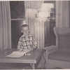 Tim, age 6, Chautauqua, November 1957.