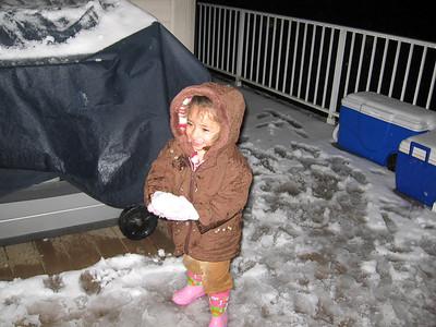 Mane y las bolas de nieve...
