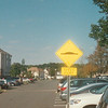 Now that is a cool sign to indicate a speed bump even if the pictures is somewhat blurry
