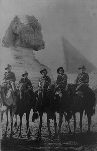 Camel Riding in Egypt - 6th February 1916