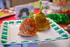 The Very Hungry Caterpillar pear and apple cheeseballs<br /> Patrick's 1st birthday