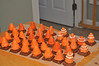 Traffic-cone cake pops. Not as tidy as I hoped, but at least they taste GREAT!