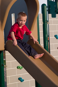 Trey on the slide again