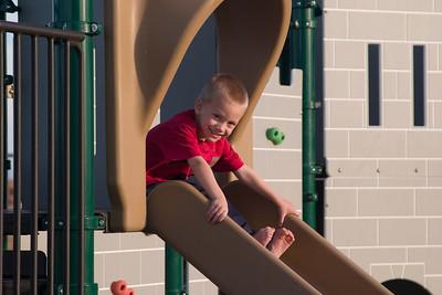 Trey on the Slide