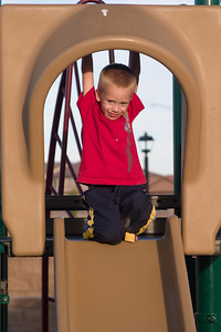Trey on the Slide