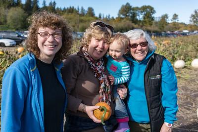 Shea, Mimi and Grandma with Aurelia