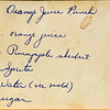 Drink Orange Juice Punch