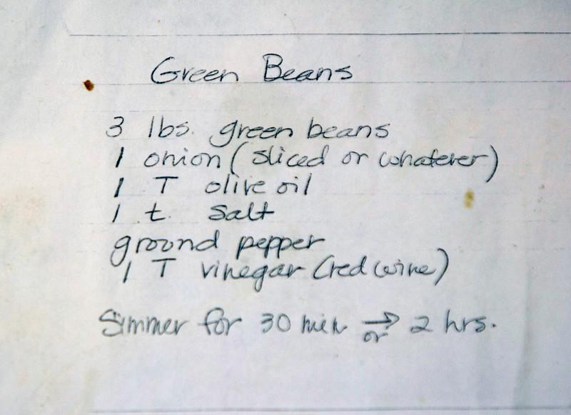 Sides Julee Green Beans 050