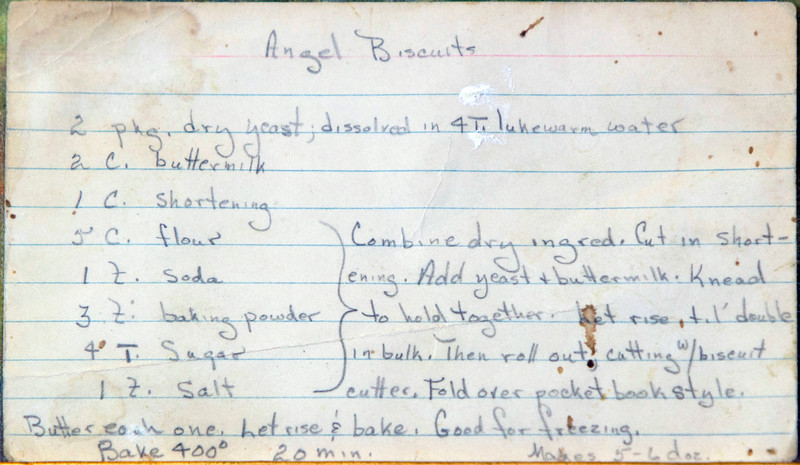 Bread Angel Biscuits