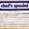 Breakfast Belgian Waffles a