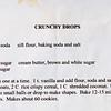 Dessert Crunchy Drop 026