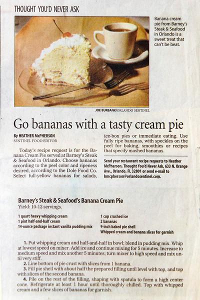 Dessert Banana Cream  Pie 027