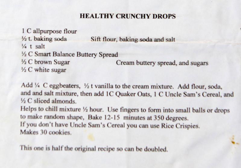 Dessert Healthy Crunky Drop 026_1