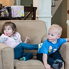 Cousins fighting for the chair