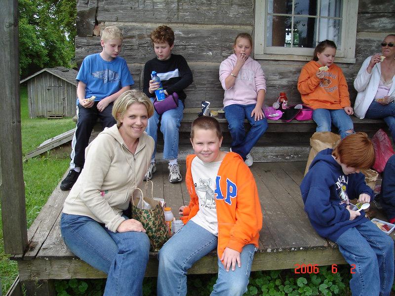 4th grade field trip to a farm in Aurora.
