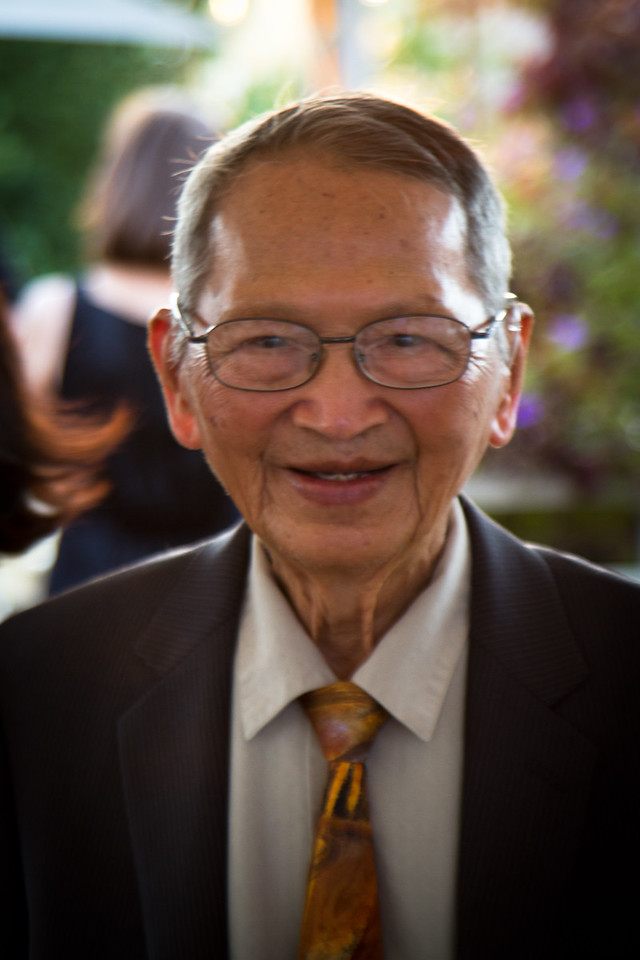 Grandpa Quang, the 93 year old ring bearer