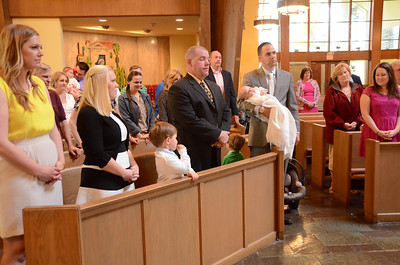 Quinn Michael christening 5-4-14