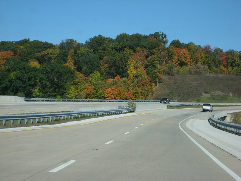 On the road to Ohio. This is just before Huntington, Indiana.