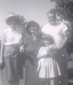 FANNIE, JANET, MARY AND DICK AND PUFFY