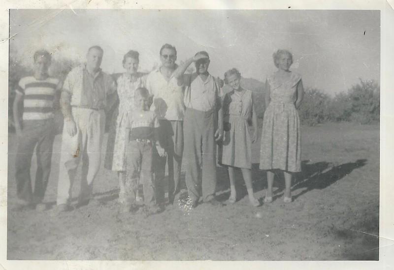 Dad Lloyd. Lloydie Barbara Alice John Velma<br /> 1954