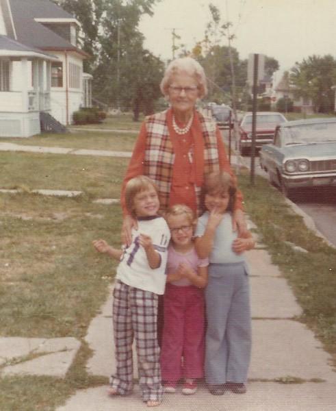 Betty's grandchildren in Michigan