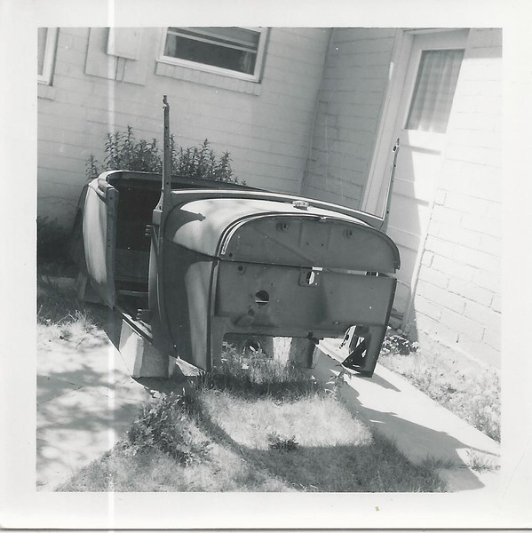Dads model a roaster he was ready to fix.