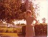 mom in yard
