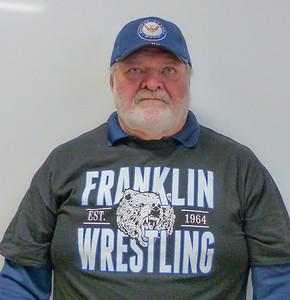 Russ Bensheimer: 180 lb. weight class, graduating class of 1969