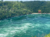 OVERHEAD CARRIAGE RIDE. FIRST MAN TO SWIM THE ENGLISH CHANNEL DECIDED TO SWIM THE NIAGRA RIVER PAST THE WHIRLPOOL TO PROVE HIS SKILLS. HIS BODY WAS FOUND DOWNSTREAM 3 DAYS LATER. WHIRLPOOL IS 120 FEET DEEP.