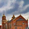 PITTSBURGH STRIP DISTRICT ST. STANISLAUS  CHURCH 1892