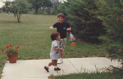 Greg; and; Michael.1986