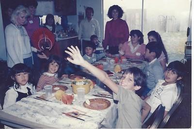 Fam.; Family; Party.; Circa; 1986