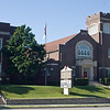 Front view of Trinity and the Trinity campus of Danville Lutheran School.