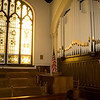 Inside of Trinity Lutheran Church