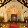 Inside of Trinity Lutheran Church, the calling congregation and Rachael's church.