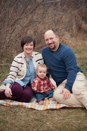Rachel, Frank + David
