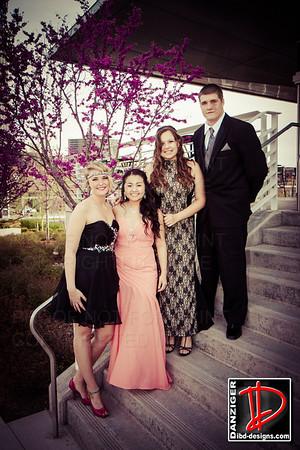 Rachel, Sean, Nue and Sunni pre-prom 2014