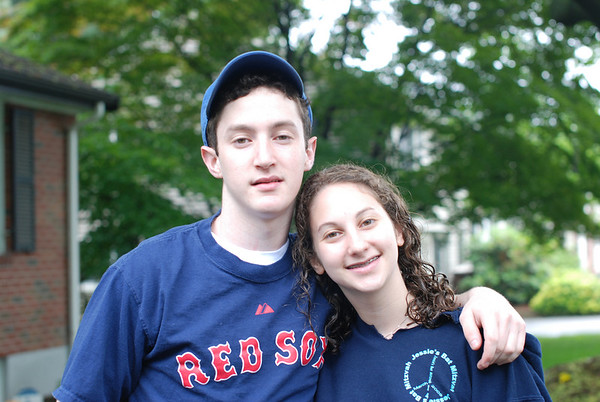 Rachel and Jonathan off to Camp June 2009