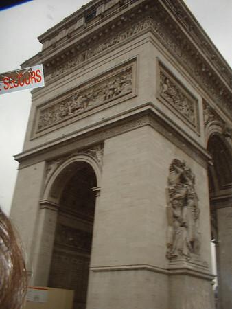Rachel in Europe 2003