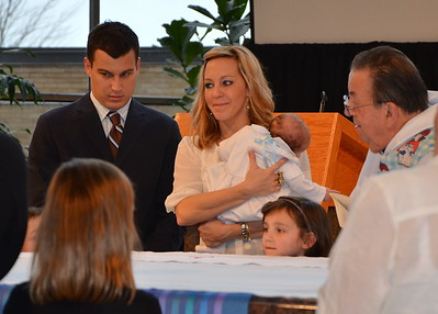 Vinny Baptism